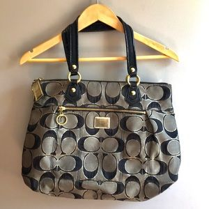 Large Coach Poppy Tote